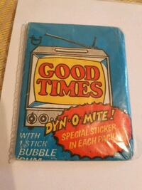 "VINTAGE TOPPS 1975 ""GOOD TIMES"" CARD PACK."
