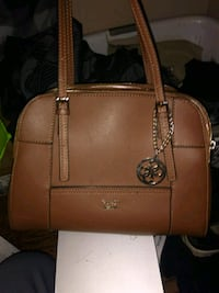 brown leather Michael Kors tote bag Regina, S4T 3B4