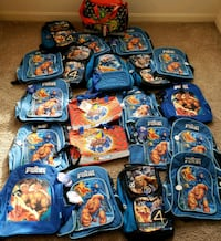 Fantastic Four & More Kids Backpacks Carry Handbag 53 km