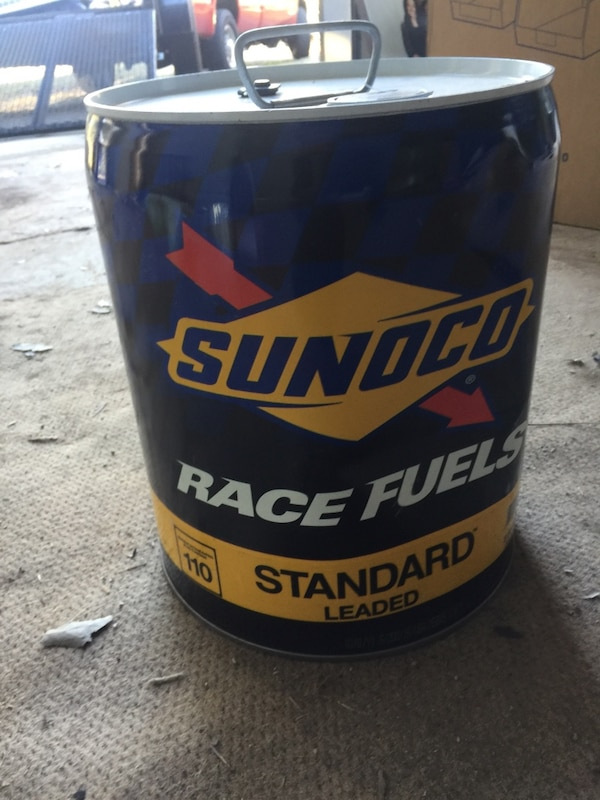 Sunoco Race Fuel 110 octane unopened