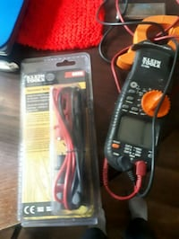 Klein tools clamp meter and replacement test set Calgary, T2A 2J9