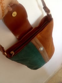 Sac en cuir marron tres chic