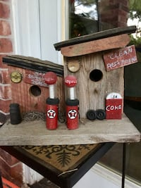 Filling station Birdhouse rustic Norman, 73071