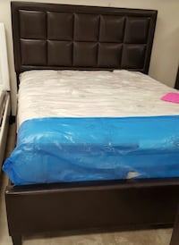 Brand new queen size platform bed frame with mattress Silver Spring, 20902