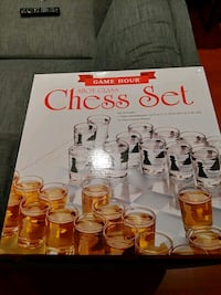 Shot Glass Chess Set Brampton, L6X 4B1