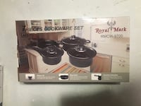 Royal Mark 7 piece cookware set  King, L7B 1L1