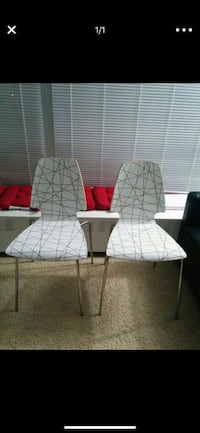 New Ikea chairs, never used. In perfect condition. I just don't need them as I have a different dining furniture . Detroit, 48207
