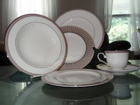 Lenox Onyx Frost China (Barely Used)  Motivated to Sell!! ROCKVILLE