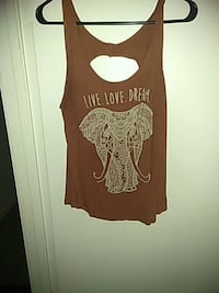 brown and white tank top Las Vegas, 89169