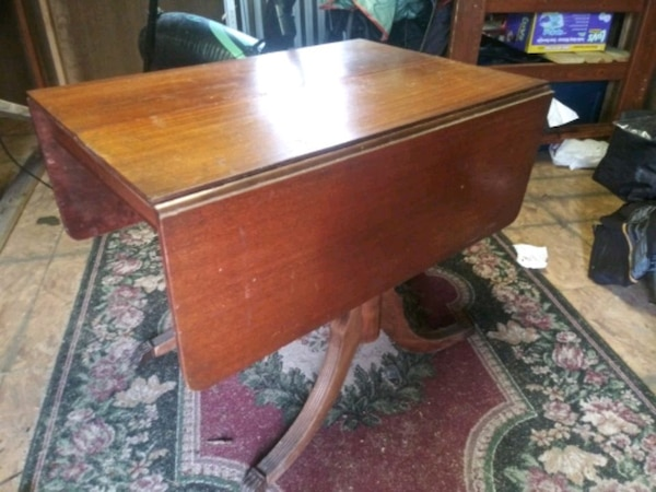 Antique Drop Leaf Table >> Used Antique Drop Leaf Dining Table For Sale In Lenoir City Letgo