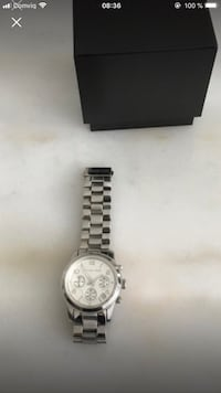 Michael kors silver watch Huddinge, 142 32