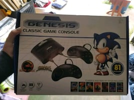 Genesis Classic Gaming Console