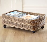 Underbed Basket From Pottery Barn (new with tags).