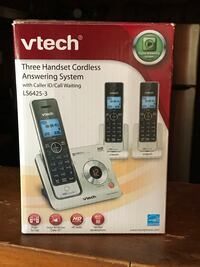 Vtech  three handset cordless answering system Fort Worth, 76119