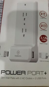 Wall plate adapter with dual usb charging ports. Lynwood, 90262