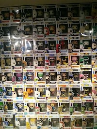 POP ! vinyl figure collection Burnaby, V5J 2K1
