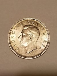 Silver South african coin 1948. Big coin