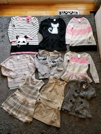5T Girls Sweaters/Dresses