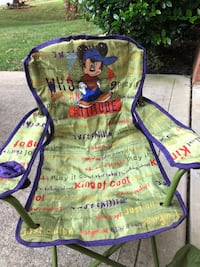 Kids Mickey Mouse folding lawn chair Mooresville, 28117