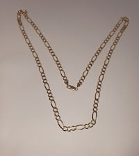 10k Yellow Gold Figaro Chain Burnaby