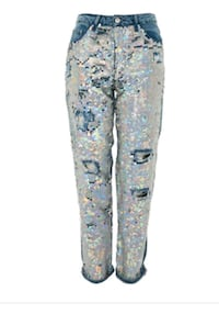 New sz 26 & 28 sequined jeans  Toronto, M2N 7C3