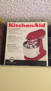 Red and white kitchenaid stand mixer box Calgary, T2G