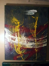 abstract acrylic painting Blaine, 55449