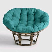Set of 2-papasan chairs with cushions Grafton, 01536