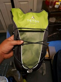 Hiking bag with water bladder  620 km