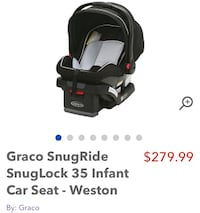 Car seat for sale Toronto, M1H 2E7