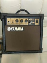 black and brown Yamaha GA-10 guitar amplifier San Marcos, 92069