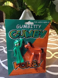 Gumby & Pokey Bendable Toy Figures..Sealed in package Toronto, M6P 2Z7