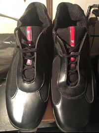 pair of black leather shoes District Heights, 20747