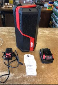Milwaukee Portable Bluetooth Jobsite Speaker w/ M18 XC 5.0 Battery & Original Recipt San Jose, 95123