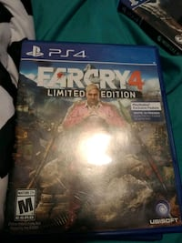 PS4 Farcry 4 game case