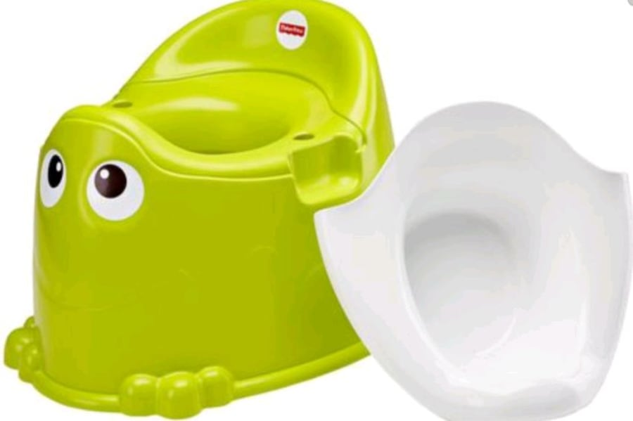 potty training, from Fisher price. Never used. 128b139d-ac78-4fe8-b3b5-3d112ce68b69
