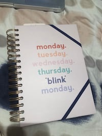 Notebook agenda never used brand new Laval, H7S 1Y3