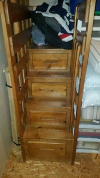bunk beds with drawers on stairs Bowmanville, L1C 5J2