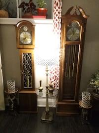 Grandfather Clock & Grandmother Clock Pair Toronto