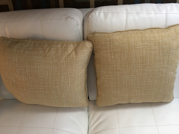 Used Pair Of Pier One Throw Pillows With Down Feathers For In Georgetown Letgo