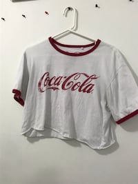 CROPPED COCA-COLA TEE