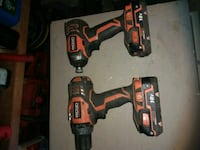 Ridgid drills noncharger work perfect Surrey, V4A 6Z7