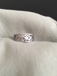 Irish Claddagh Sterling Silver pinky/toe Ring Arlington, 22204