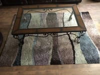 TV Stand, Area Rug, & Coffee Table for sale
