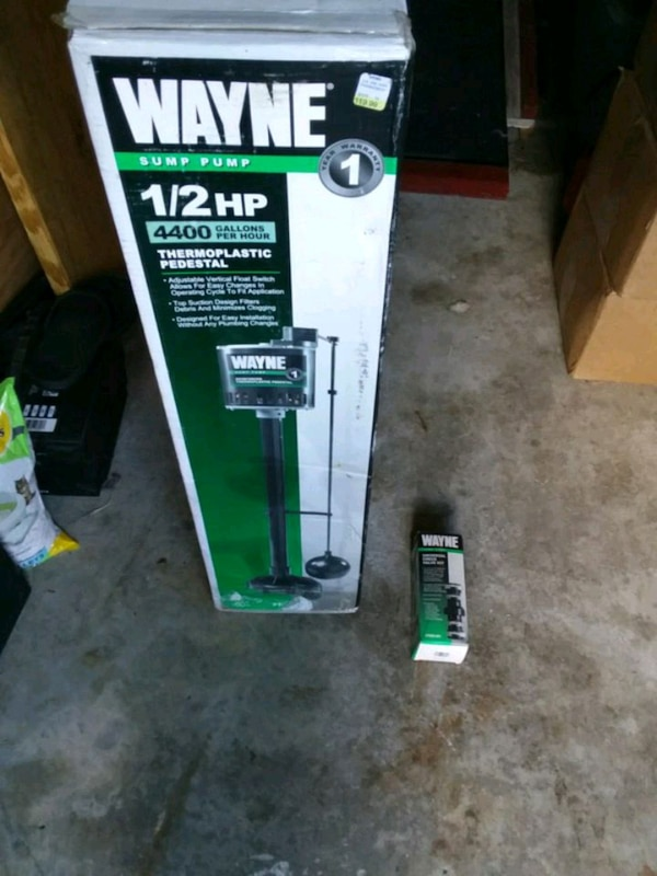 New Wayne 1/2hp house sump pump abf55bc9-f3e1-4367-8ed9-1c6b70348a33