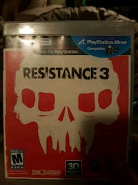 Sony PS3 Resistance 3 case Dartmouth, B3A 4C5