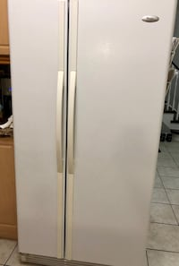 white side by side refrigerator Toronto, M1T
