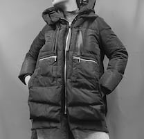 Puffer Coat, down Jacket