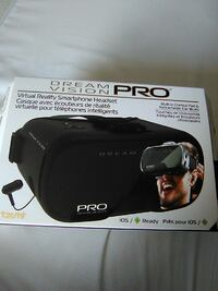 black Dream Vision Pro virtual-reality headset box Waterloo, N2T 2M1