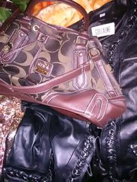 New coach Purse,and Guillaume black leather jacket.